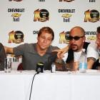 Backstreet Boys durante coletiva de impresa em Recife / Luiza Fabíola | Focka