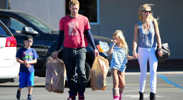 Chris Martin e Gwyneth Paltrow / Reprodução