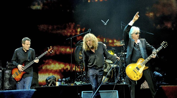 Apresentação da banda Led Zeppelin na Arena O2 em londres / Divulgação