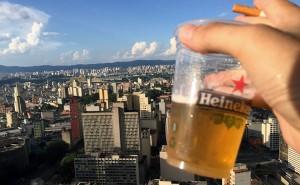 3º Heineken up on the roof no edificio Mirante do Vale em São Paulo / Bruno Oliveira   Portal Focka