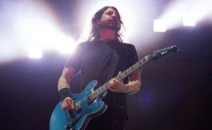A banda Foo Fighters homenageia o rock'n'roll no Rio de Janeiro   Foto: Divulgação / Marcos Hermes
